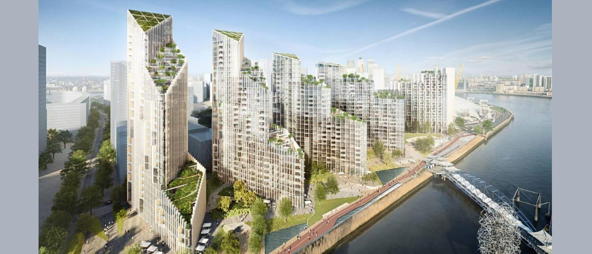 Upper Riverside, Greenwich Peninsula Project Cover